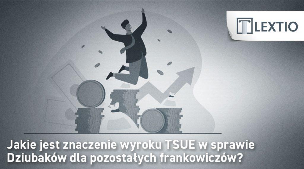 TSUE w sprawie Dziubaków i innych frankowiczów